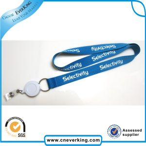 Customized Blue Yoyo Polyester Lanyard pictures & photos