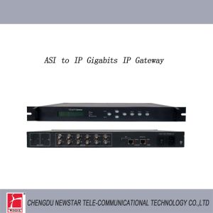 12 Way TS Stream to IP Stream Converter