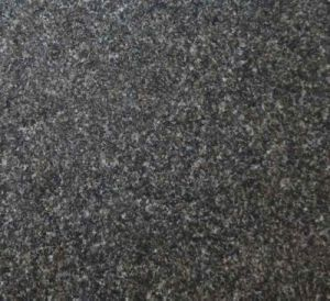 China Hebei Black Granite Flamed Wall Cladding Tile