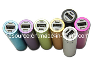 2600mAh 5V 1A Li-ion Mobile Phone Power Bank