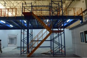 Steel Platform/Steel Floor/Mezzanine Floor/Mezzanine Rack pictures & photos