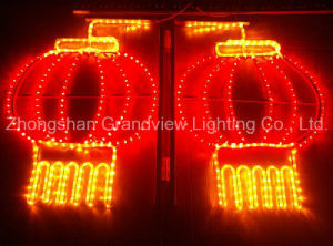 LED Lantern Rope Motif Light for Chinese New Year Decoration pictures & photos