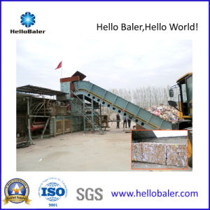 100tons Hydraulic Automatic Baling Machine for Waste Paper pictures & photos