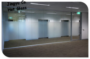 Customized Acid Etched Glass with Nice Designs pictures & photos