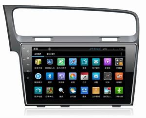 "10.1"" Big Screen Android 4.4 Car Audio System for Volkswagen Golf 7 with 1024 * 600 Resolution and DVR Camera Input"