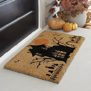 Music LED Design Personalized Made in China Christmas Holiday Halloween Rugs Carpets Coco Coir Coconut Fiber Door Mats pictures & photos