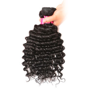Unprocessed Brazilian Human Hair Ombre Extensions Brazilian Virgin Hair Deep Wave pictures & photos