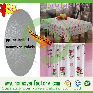 Spunbond 100% Polypropylene Nonwoven Textiles Fabrics pictures & photos