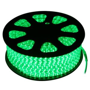3528 220V LED Strip with Waterproof (green)