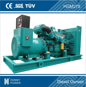 Googol Diesel Generator Set 250kVA Fuel Consumption 50L/H pictures & photos