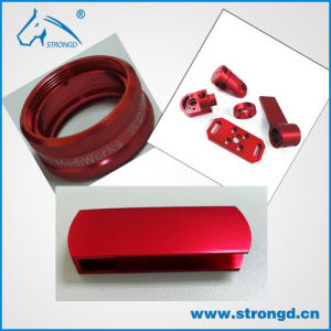 Custom High Precision CNC Machining Metal Parts with Red Anodized
