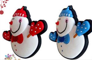 Christmas Gift Winter Snowman Resin Fridge Magnet pictures & photos