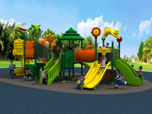 2017 New Mould Factory Kids Exercise Outdoor/Indoor Playground Slide Equipment Amusement Park Woods Series (HD15A-027A) pictures & photos