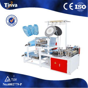 China Manufacturer Automatic Plastic Sleeve Cover Making Machine CE ISO pictures & photos
