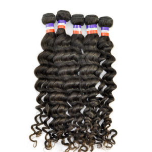 Wholesale 5A Grade Human Virgin Hair Philippine Deep Wave pictures & photos