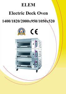 Electric Deck Baking Oven (Push Up / Down Door) (ELEM)