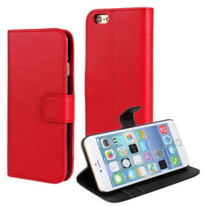 Wallet Leather Case for Apple iPhone 6 Plus pictures & photos