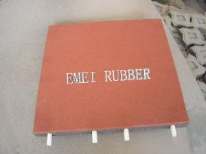 Without-Adhesive Not Easy to Curl Rubber Mat pictures & photos