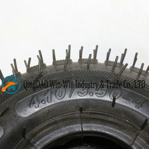 4.10/3.50-4 Rubber Wheel with Pneumatic Tyre pictures & photos