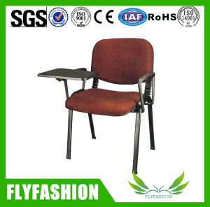 Fabric Cover Student Chair with Writing Pad (SF-35F) pictures & photos