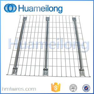 Galvanized Steel Rack Wire Mesh Decking for Step Beam pictures & photos