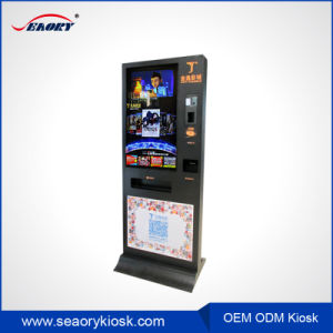42inch Automatic Cinema Ticket Vending Machine Kiosk Payment Printer pictures & photos