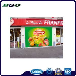 Frontlit PVC Flex Banner Self Adhesive Vinyl (500dx1000d 18X12 610g) pictures & photos