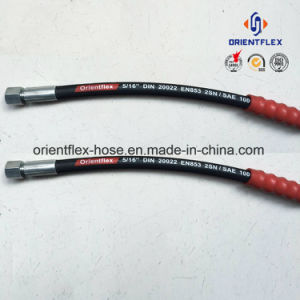 China Manufacturer Hydraulic Rubber Hose (SAE100 R2) pictures & photos