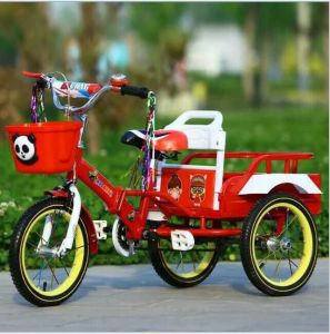 "12"" Children Tricycle with Three Wheels/ Single Speed Kids Trike pictures & photos"