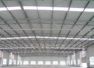 Beautiful Steel Structure Construction Building with Big Span pictures & photos