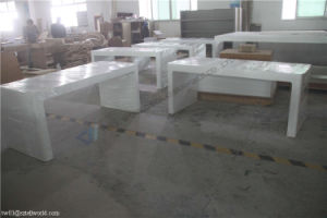 Guangdong Furniture Luxury Acrylic Furniture Executive Office Desk pictures & photos