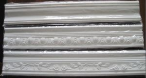 Polyurethane Foam Deocration Material Plain PU Cornice pictures & photos