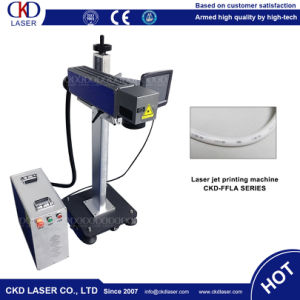 20W Fiber Laser Online Flying Laser Marking Machine with High Speed pictures & photos