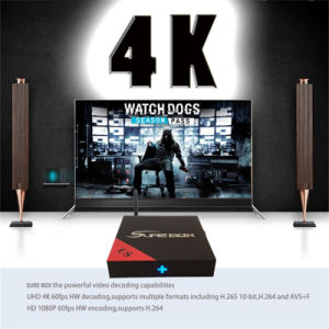Popular IPTV Amlogic S905X Quad Core 4K TV Box pictures & photos