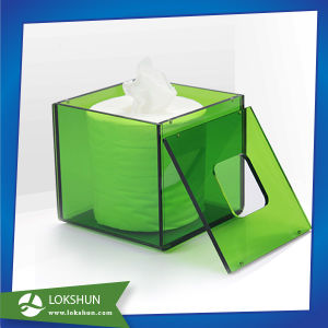 New Design Acrylic Napkin Tissue Box Container Used in Hotel pictures & photos