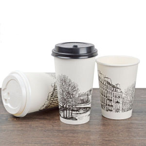 Hot Sale 7oz Promotional Paper Coffee Cups Factory pictures & photos