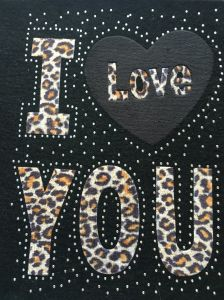 Leopard Hot Fix Copper Patches pictures & photos
