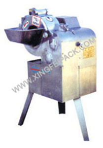 Fruit Slice and Little Square Cube Cutting Machine pictures & photos