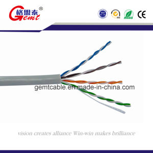 Top Quality Factory Price UTP Cat5e Bare Copper Networking Cables pictures & photos