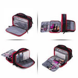 Women Large Waterproof Makeup Bag Men Nylon Travel Cosmetic Bag Organizer Case Necessaries Make up Wash Toiletry Bag pictures & photos