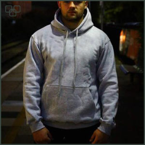 Winter Fashion High Qulaity Muscel Fit Unisex Hoodie pictures & photos