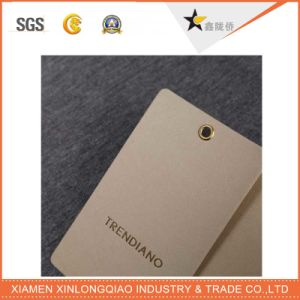 Manufacturer Custom Execllent Quality Paper Garment Hang Tag with Printing pictures & photos