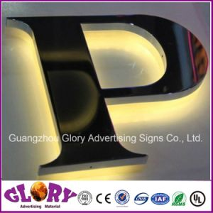 Copper Channel Letter Sign Backlit LED Letter Sign pictures & photos