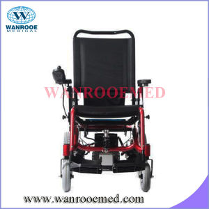 Bwhe601 Full-Automatic Pneumatic Tires Two Motors Foldable Electric Wheelchair pictures & photos