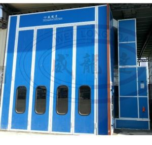 High Quality 15m Automotive Painting and Baking Booth pictures & photos