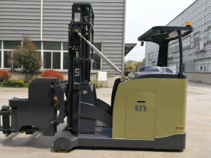 Vna Small Narrow Aisle Forklift Truck 1.3ton pictures & photos