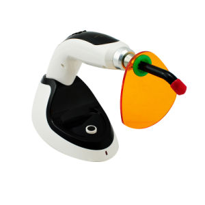 Wireless LED Dental Curing Light Lamp1400MW with Teeth Whitening Accelerator-Alisa pictures & photos