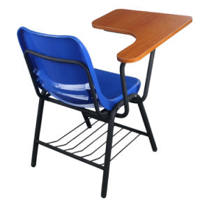 School Classroom Chairs with Writing Pad for Students pictures & photos