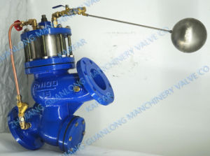 Buildin Strainer Piston Actuated Water Level Control Float Valve (GL98003) pictures & photos