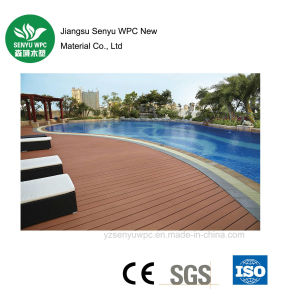 Outdoor Wood Plastic Composite WPC Decking with CE pictures & photos